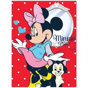 Veľká fleecová deka Minnie Mouse - Disney