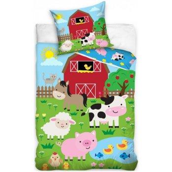 Bavlnené posteľné obliečky - Na statku