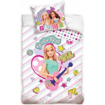 Bavlnené posteľné obliečky Barbie - Pop Star