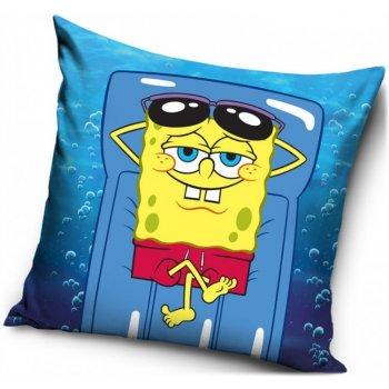 Povlak na vankúš SpongeBob na lehátku