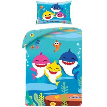 Obliečky do detskej postieľky Baby Shark