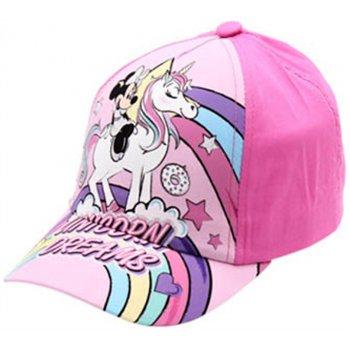 Dievčenská šiltovka Minnie Mouse - Unicorn Dreams (3 farebné varianty)