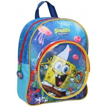 Detský batoh s predným vreckom Spongebob
