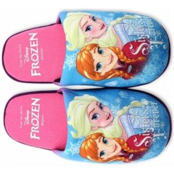 Dievčenské papuče Ľadové kráľovstvo - Frozen - ružové