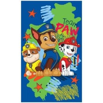 Chlapčenský uterák Paw Patrol - Rubble, Chase a Marschall