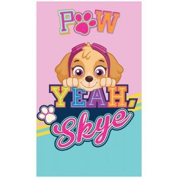 Dievčenský uterák Paw Patrol - Yeah, Skye