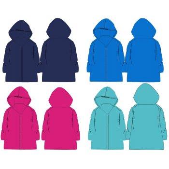 Farebná pláštenka PVC (4 farebné varianty)
