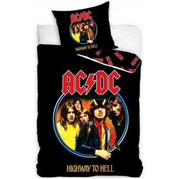 Bavlnené posteľné obliečky AC/DC - Highway to Hell
