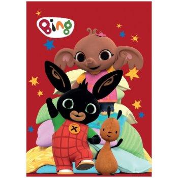 Detská fleecová deka Zajačik Bing a jeho kamaráti
