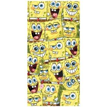 Detská plážová osuška Spongebob všade kam sa pozrieš