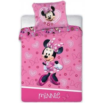 Obliečky do detskej postieľky Minnie Mouse