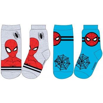 Chlapčenské ponožky Spiderman (2 páry)