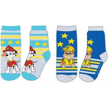 Chlapčenské ponožky Paw Patrol (2 páry)