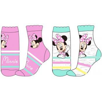Dievčenské ponožky Minnie Mouse (2 páry)