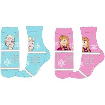 Dievčenské ponožky Ľadové kráľovstvo (2 páry)