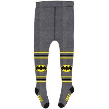 Chlapčenské pančucháče Batman - šedé