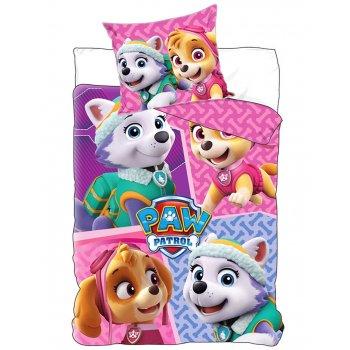 Bavlnené posteľné obliečky Tlapková patrola - Paw Patrol...