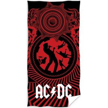 Bavlnená plážová osuška AC / DC - Black Ice