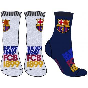 Chlapčenské ponožky FC Barcelona (2 páry)