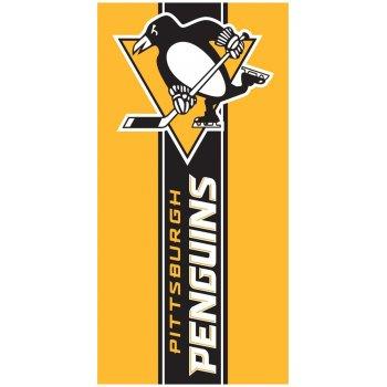 Hokejová bavlnená osuška NHL Pittsburgh Penguins Belt