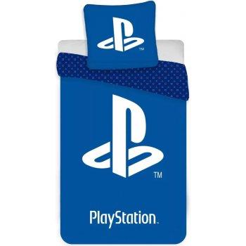 Bavlnené posteľné obliečky PlayStation - Logo