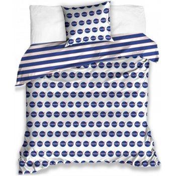 Saténové posteľné obliečky NASA