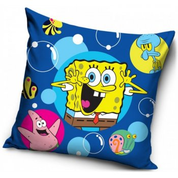Povlak na vankúš SpongeBob - modrý