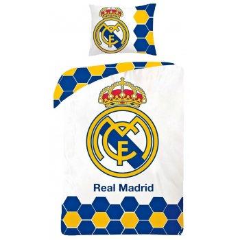 Bavlnené posteľné obliečky Real Madrid