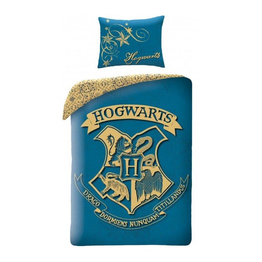 Halantex · Bavlnené posteľné obliečky Harry Potter - tyrkysové - 100% bavlna - 70 x 90 cm + 140 x 200 cm