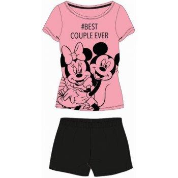 Dámske krátke pyžamo Minnie & Mickey Mouse