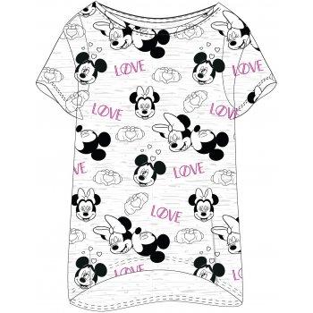 Dámske tričko na spanie Mickey & Minnie Mouse - LOVE
