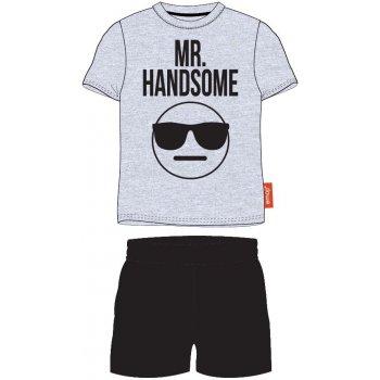 Pánske bavlnené pyžamo Emoji - Mr. Handsome