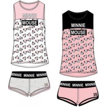 Dámske bavlnené krátke pyžamo Minnie Mouse - Disney