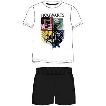 Pánske krátke pyžamo Harry Potter - biele