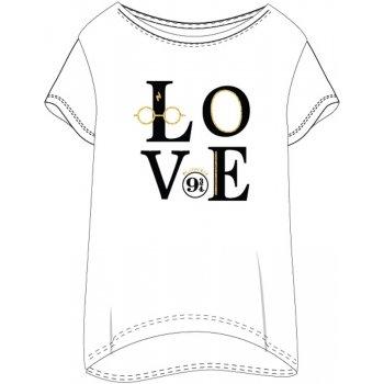 Dámske tričko na spanie Harry Potter - LOVE