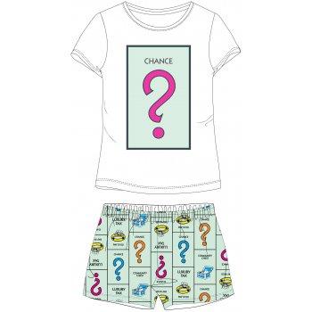 Dámske krátke pyžamo Monopoly - Šanca?