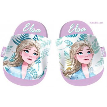 Detské mäkké papuče Ľadové kráľovstvo - Elsa