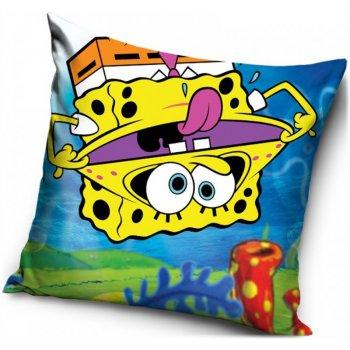 Povlak na vankúš SpongeBob hore nohami