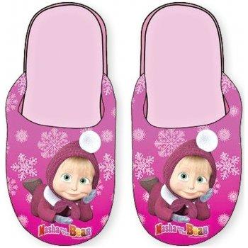 Dievčenské papuče Máša a medveď