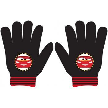 Chlapčenské pletené prstové rukavice Autá - Cars