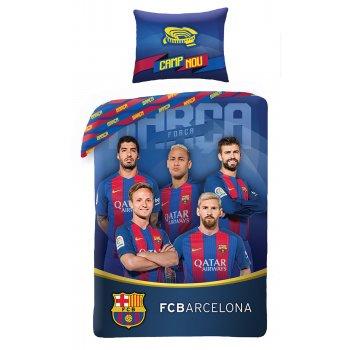 Bavlnené posteľné obliečky FC Barcelona - Camp Nou