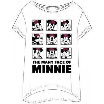 Dámske tričko na spanie Minnie Mouse - The many face of Minnie