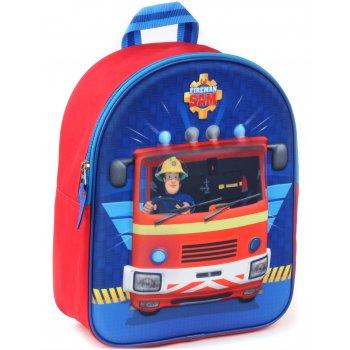 Detský 3D batoh Požiarnik Sam