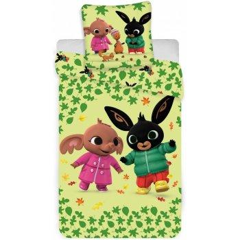 Obliečky do detskej postieľky Zajačik Bing a Sula