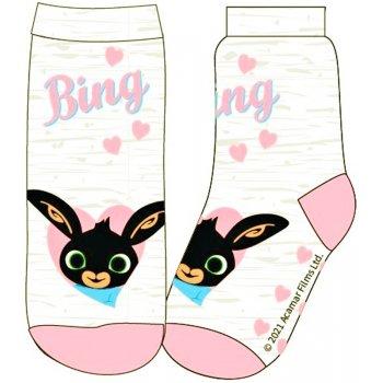 Dievčenské ponožky Zajačik Bing (2 páry)
