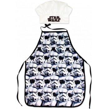 Detská zástera s kuchárskou čiapkou Star Wars