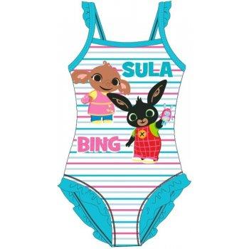 Dievčenské jednodielne plavky Zajačik Bing a Sula