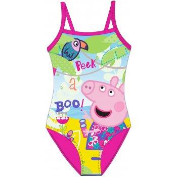 Dievčenské jednodielne plavky Prasiatko Peppa