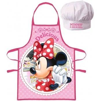 Dievčenská zástera s kuchárskou čiapkou Minnie Mouse - Disney - Delicious