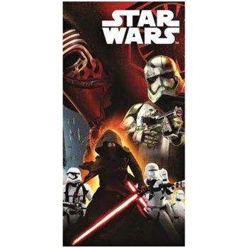 Bavlnená plážová osuška Star Wars - Stormtrooper a Darth Vader